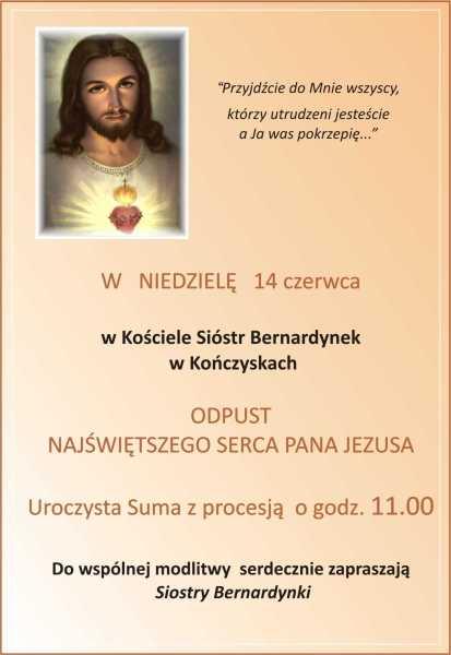 Odpust Serca Pana Jezusa