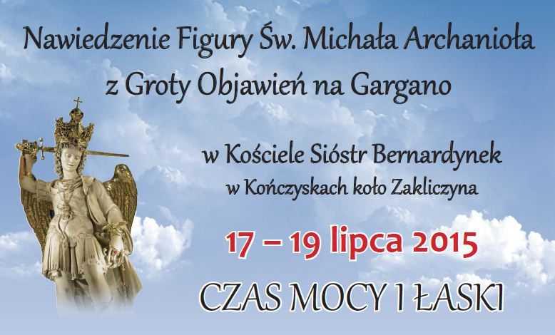 Nawiedzenie Figury Św. Michała Archanioła